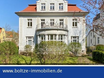 Ihr neuer Wohntraum im Naumburger Bürgergartenviertel mit Terrasse im Grünen!