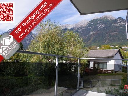 Neuwertige 2 Zimmer-Wohnung im Westen von Innsbruck
