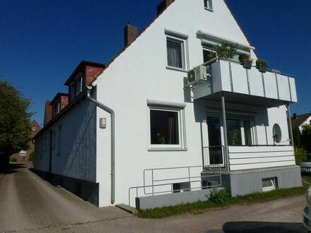 Erdgeschosswohnung mit Sonnenbalkon in zentraler Lage von Enger!