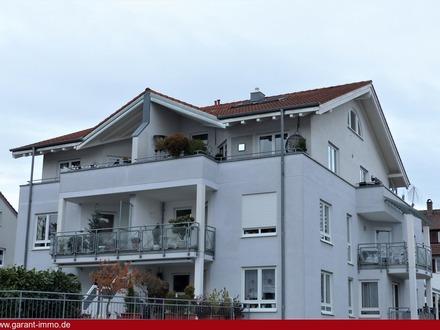 Sonnenverwöhnte Maisonette-Wohnung in ruhiger Lage!