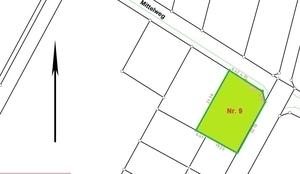 Reserviert - Kurzfristig wieder verfügbar - Grundstück Nr. 9 - Rothenuffeln
