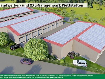 Halle Typ C (ca. 43 m²) in neuem Handwerker- und XXL-Garagenpark bei Ingolstadt