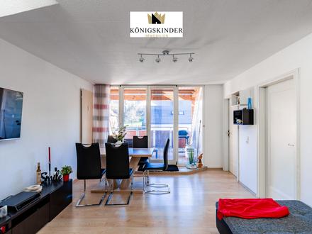 Gemütliche 3 Zimmer Dachgeschosswohnung mit schöner Dachterrasse und Gartenanteil.