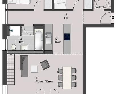 3-Zimmer-Dachgeschoss-Wohnung in der Kästnerstraße