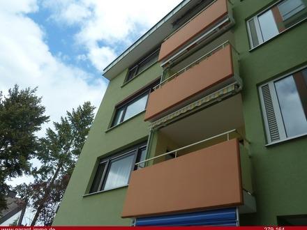 Helle 3 Zimmer-Wohnung mit Pfiff - Praktischer Schnitt - Balkon und TG-Stellplatz - zentrale Lage