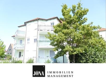Stadtnah, aber trotzdem ruhig und im Grünen: Großzügige 2-Zimmer-Wohnung