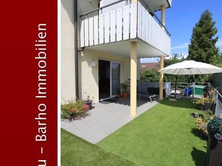 Tolle großzügige 4-Zimmer-Wohnung mit Terrasse und Garten