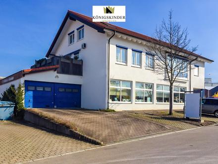 Wohn-und Geschäftshaus in Weilheim an der Teck mit Top-Atelierwohnung
