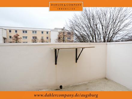 Gut geschnittene 1-Zimmer-Wohnung mit Balkon!