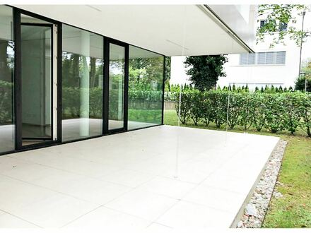 Großzügige luxeriöse 2 Zimmer Gartenwohnung an der Salzach Aigen Salzburg Stadt