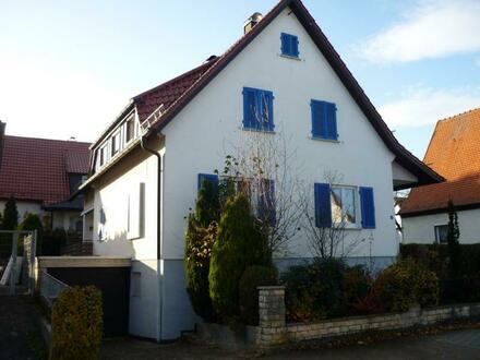 Einfamilienhaus mit viel Platz und viel Potenzial in ruhiger Seitenstraße von Hofherrnweiler