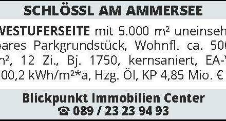 SCHLÖSSL AM AMMERSEE WEST