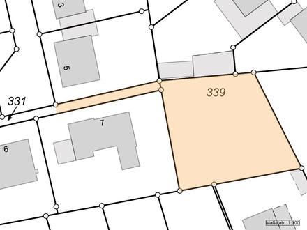 Baugrundstück in Fürstenau 875 m²