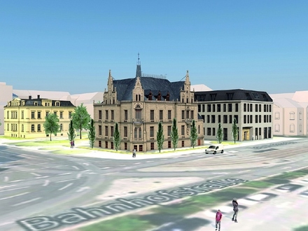 Büropark Villa Zimmermann - Neubaubüro im Haus Carola mieten