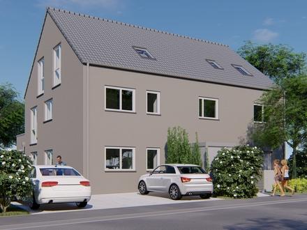Obergeschosswohnung in einem Drei-Familien-Haus mit großzügigen Grundrissen.