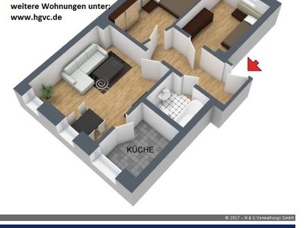 3 Zi. Wohnung - Grün, ruhig, Stadtnah, grosser Hausgarten, Pkw - Stellplatz !!!!
