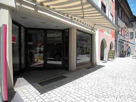 Ebenerdiges Ladenlokal in sehr guter Lauflage in Wangen (M)