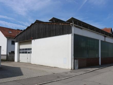 Großflächige Lagerhalle in Straubing