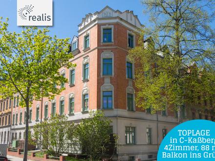 BELIEBTER KASSBERG! Komfortable 4-Raum Wohnung in Chemnitz-Altendorf für Eigennutzer und Anleger!