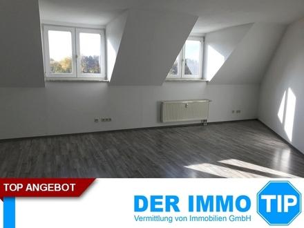 Sanierte 2 Zimmerwohnung im Dachgeschoss mit offener Wohnküche und EBK ++ Gablenz