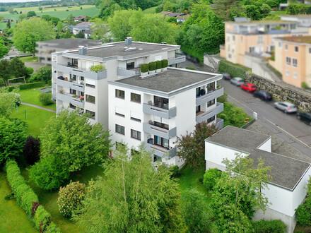 Top gepflegte 3,5-Zimmer-Wohnung in Weingartens Oberstadt mit Balkon!