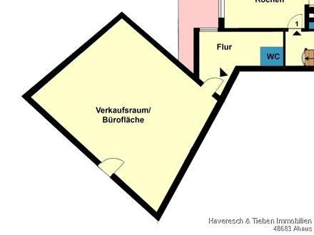 Büro-/Verkaufsfläche in Wessum zu vermieten!