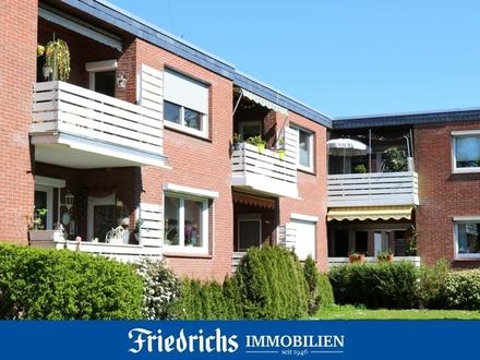 Modernisierte 3 ZKB-Eigentumswohnung im EG mit Loggia in Bad Zwischenahn / zentrumsnahe Kurortlage