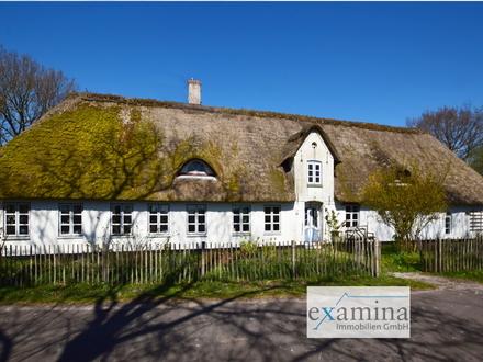 Resthof mit Reetdachhaus und ausbaufähiger Scheune zum Selbstverwirklichen in idyllischer Lage!