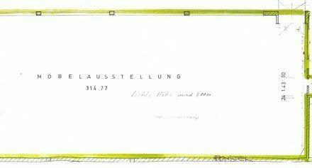 02_VL2148VH Schöne, helle Ausstellungsfläche mit großer Schaufensterfront / Größerer Ort ca. 35 km südlich von Regensburg
