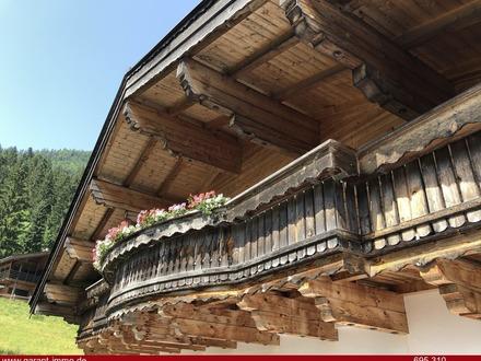 Bauernhaus Anno 1377 mit der Technik und dem Komfort von Heute - Was für eine Symbiose !