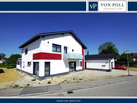Natur und Erholung direkt an der Isar! Modernes, smartes Einfamilienhaus in Ergolding/Landshut