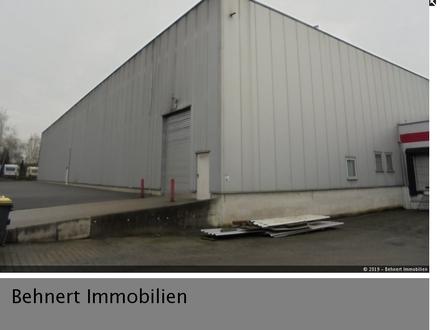 1909qm Produktions- und/ oder Lagerfläche...! Gewerbehalle mit Pkw-Stellplätzen ab sofort frei