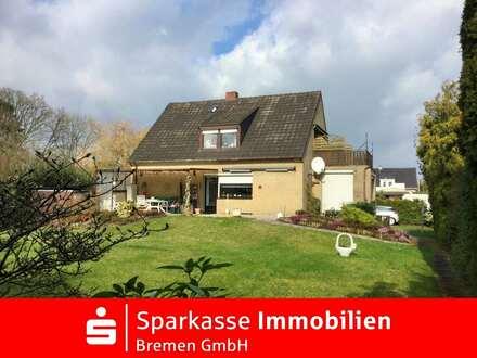 Einfamilienhaus mit Einliegerwohnung in beliebter und ruhiger Lage von Bremen-Osterholz