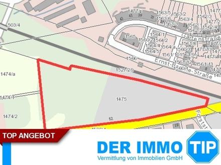 Gewerbegrundstück an stark frequentierter Straße Ortseingang Radeberg zur Miete