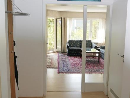 Phantastische 2 Zimmer-Wohnung mit Terrasse und privatem Garten