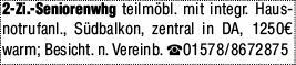 Mietwohnung in Darmstadt (64283)