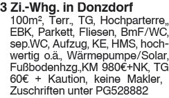 3 Zi. Whg. in Donzdorf