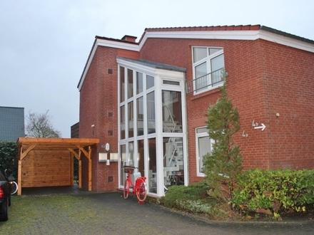5309 - 2-Zimmer-Erdgeschosswohnung mit EBK, Terrasse und Carport in Oldenburg/Donnerschwee