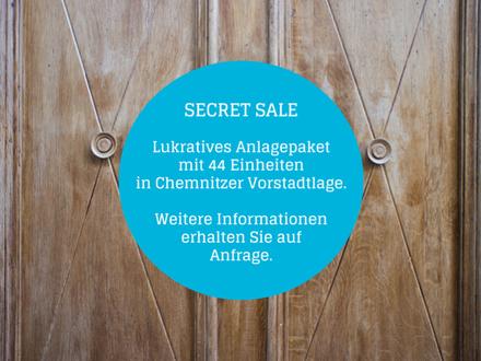 TOP-Investment+++Anlagepaket mit 44 Einheiten in Chemnitzer Vorstadtlage+++