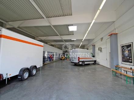 Lagerhalle mit großzügiger Freifläche
