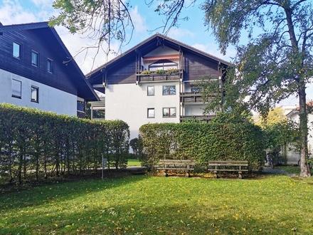 Sonnige 3-Zimmer-Wohnung mit großer Loggia u. Bergblick