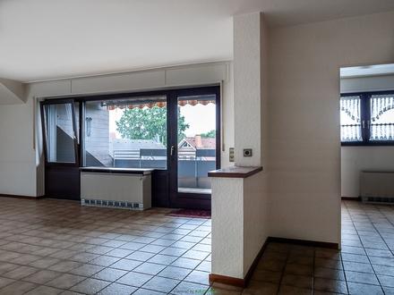 MARL-POLSUM: Ruhige großzügige Dachgeschosswohnung (Wfl. ca.100 m²) mit Balkon zu vermieten!