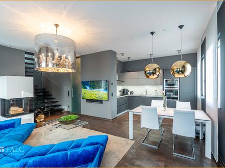 Traumhafte Penthousewohnung (Masionette) über den Dächern von Homburg zu verkaufen!