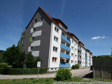 Die Wohnung - 3 Räume und Balkon!