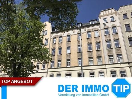 4 Zimmerwohnung mit Balkon und gemeinschaftlichen Garten in Chemnitz Altendorf mieten!