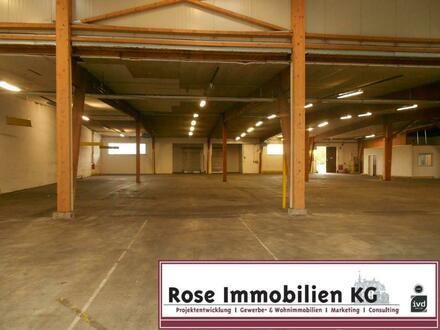 ROSE IMMOBILIEN KG: Logistik-/Lagerhalle mit sehr guter Verkehrsanbindung