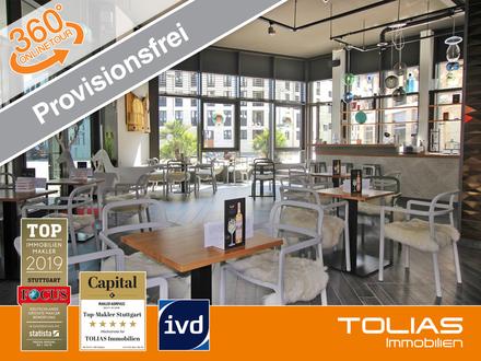 Provisionsfrei: Tolles, stylisches Café in Bestlage 50 Sitzplätze innen, 20 Plätze außen