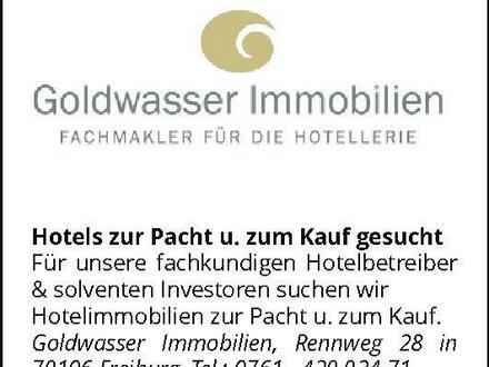 Hotelimmobilien gesucht