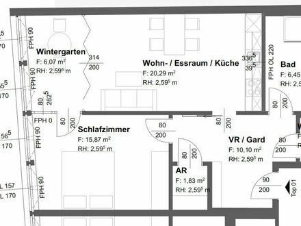 Wolfsberg - Am Weiher: Moderne Stadtwohnung / Erstbezug nach Generalsanierung / Umbau im 2.OG mit Wintergarten | Lift