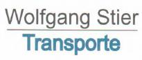 Wolfgang Stier Transporte